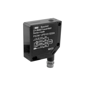 FEDM 12P5101/S35A - Through beam sensors - miniature
