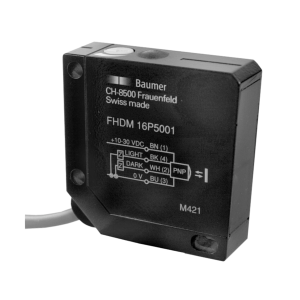 FHDM 16P5001 - Diffuse sensors with background suppression - standard