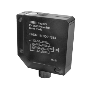 FHDM 16P5001/S14 - Diffuse sensors with background suppression - standard